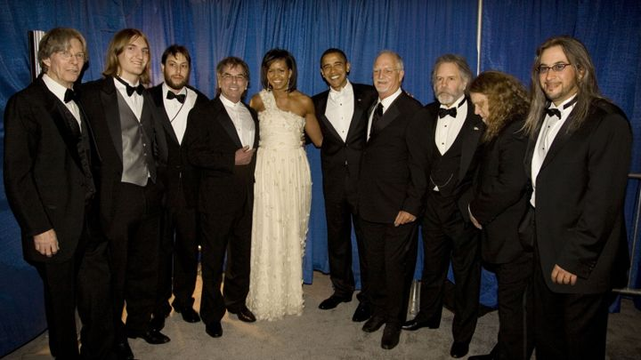 The Dead w/ President Obama & First Lady, source: rollingstone.com